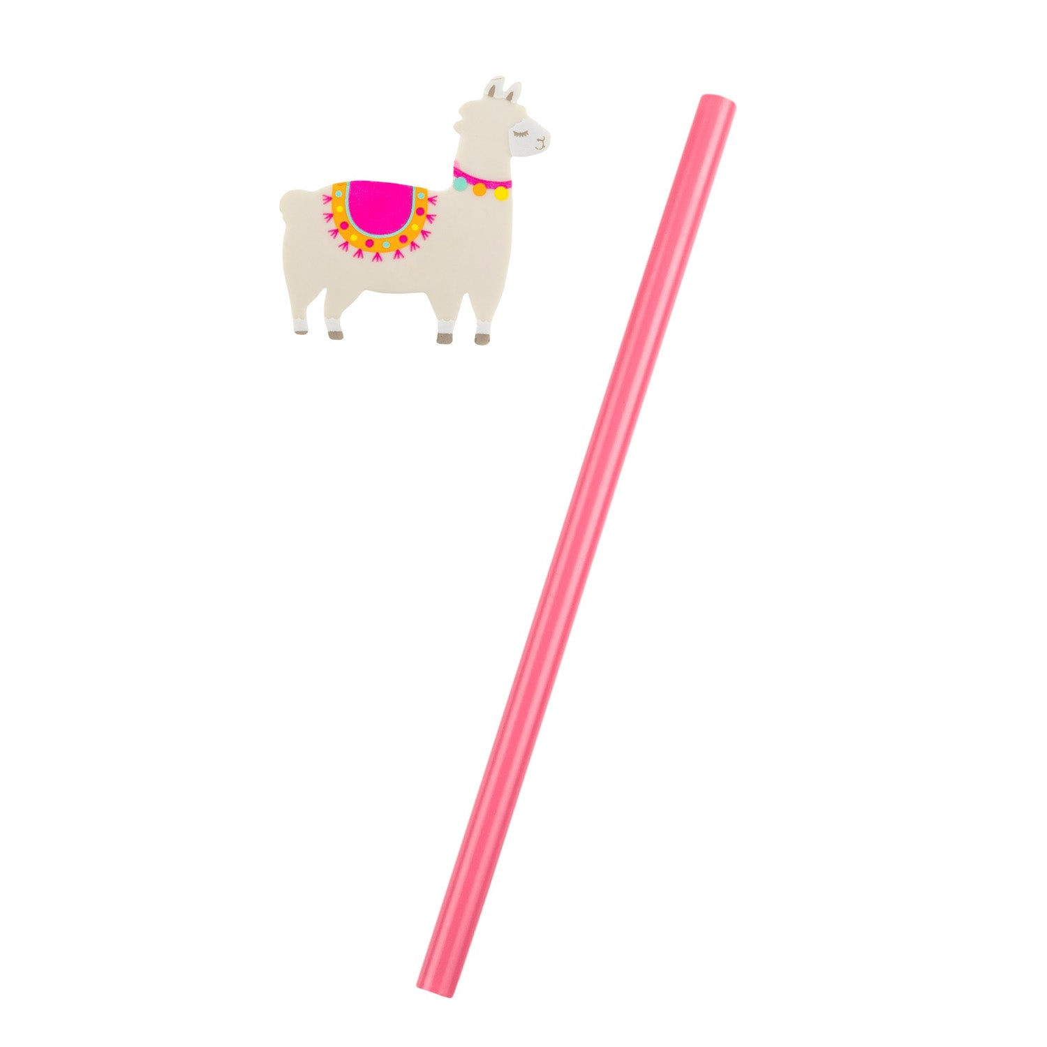 Little Llama Pencil with Eraser Topper - MissieMay