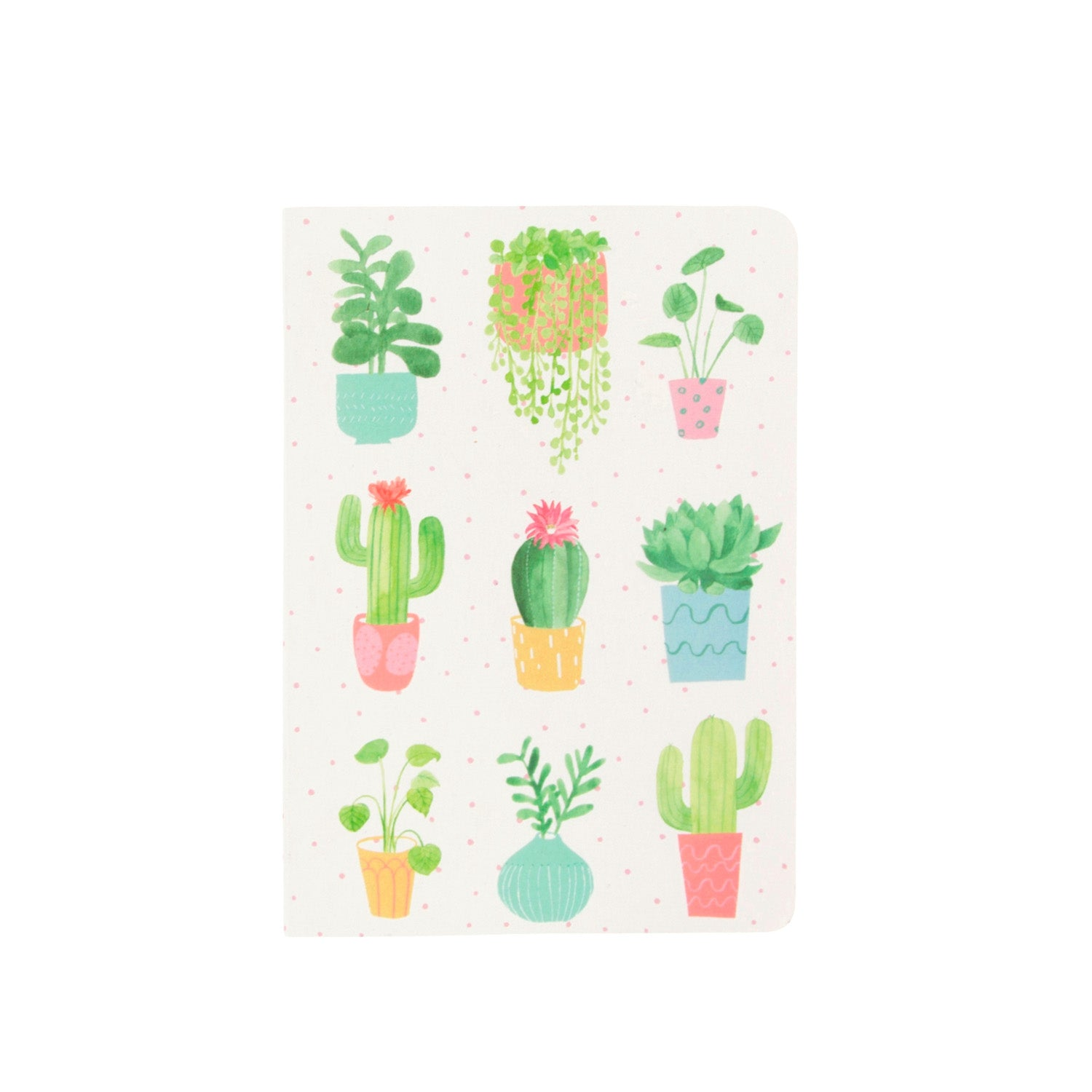 Pastel Cactus A6 Notebook - MissieMay