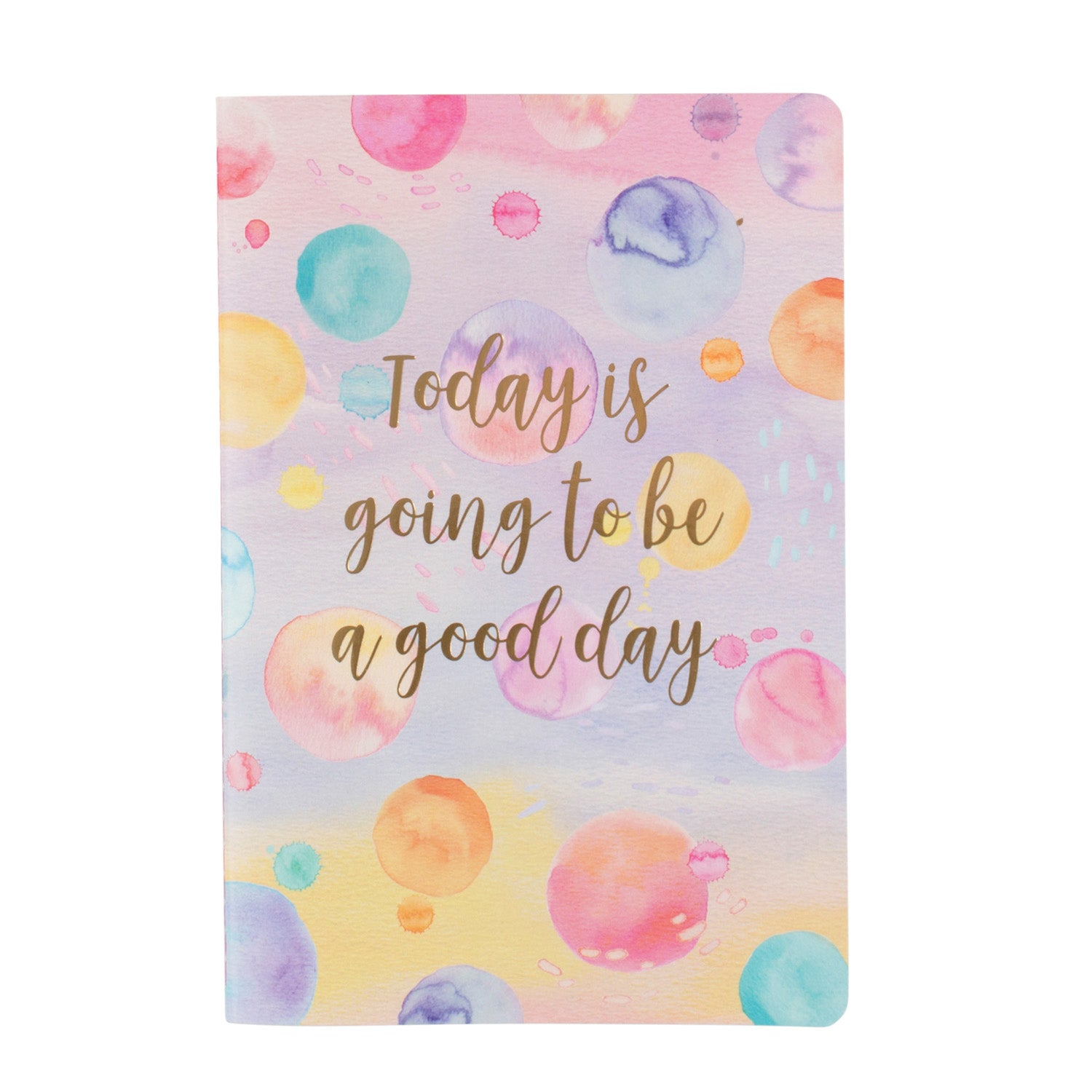 Good Day Paint Splash A5 Notebook - MissieMay