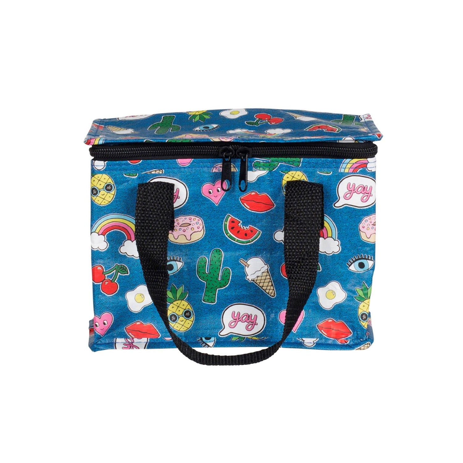 Patches and Pins Lunch Bag - MissieMay