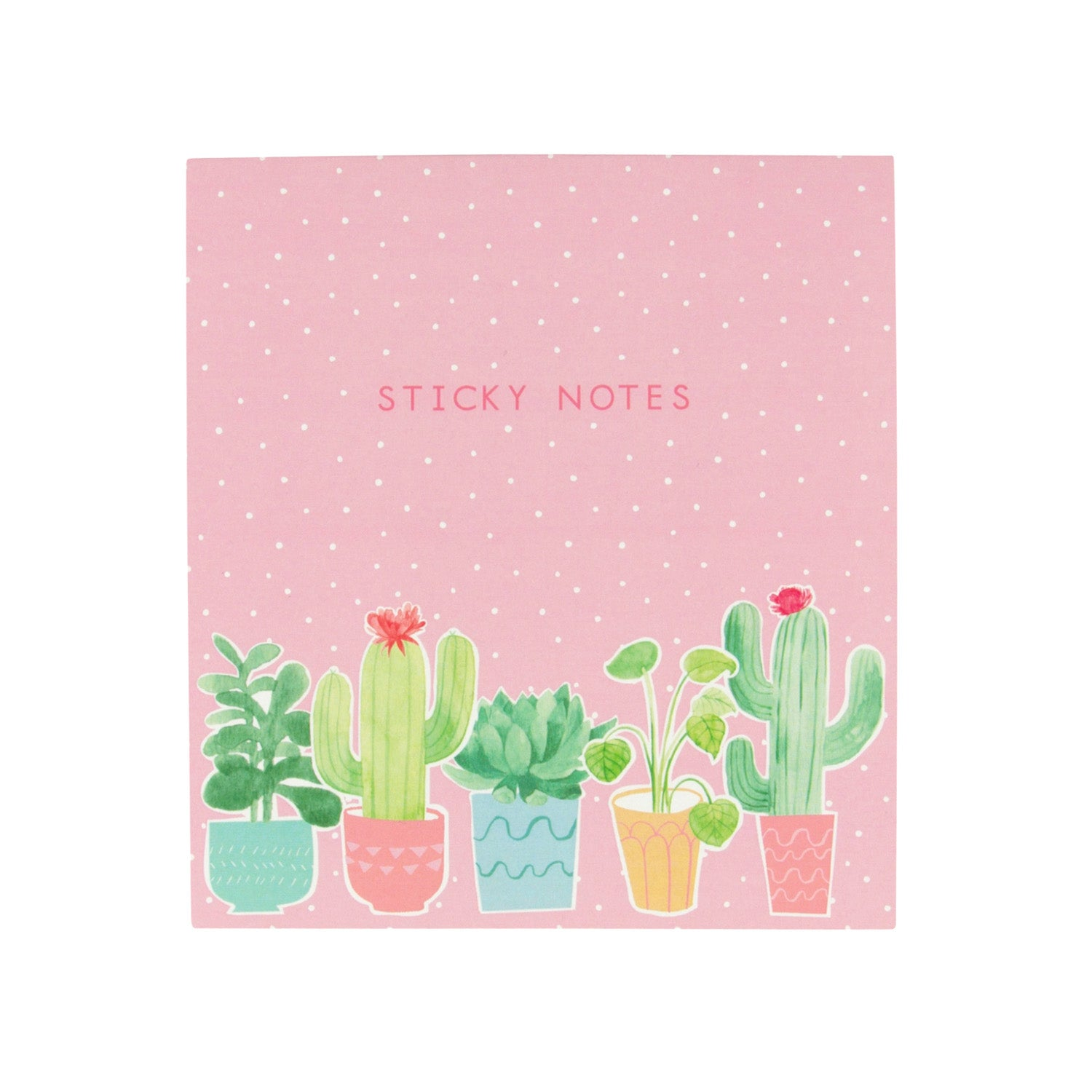 Pastel Cactus Sticky Note Set - MissieMay