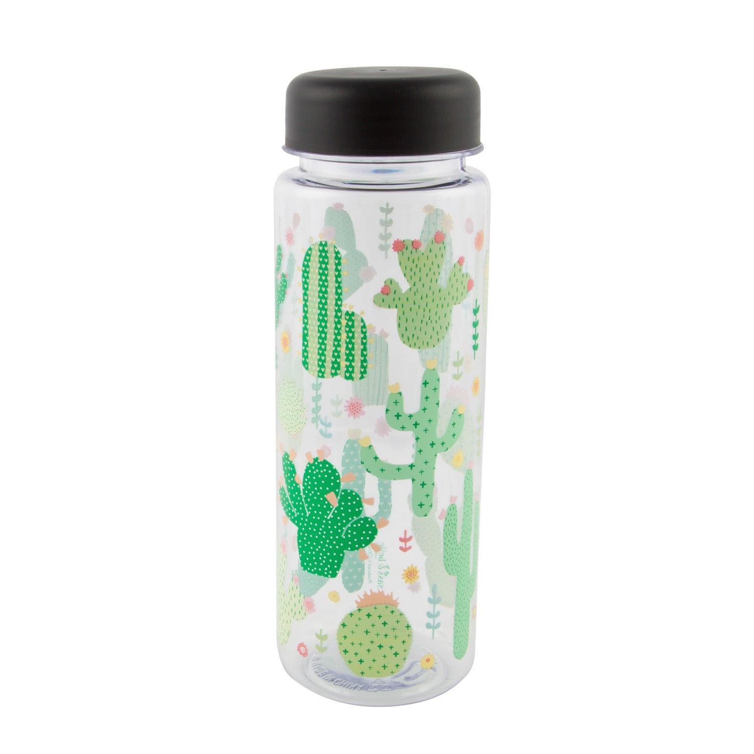 Colourful Cactus Water Bottle - MissieMay