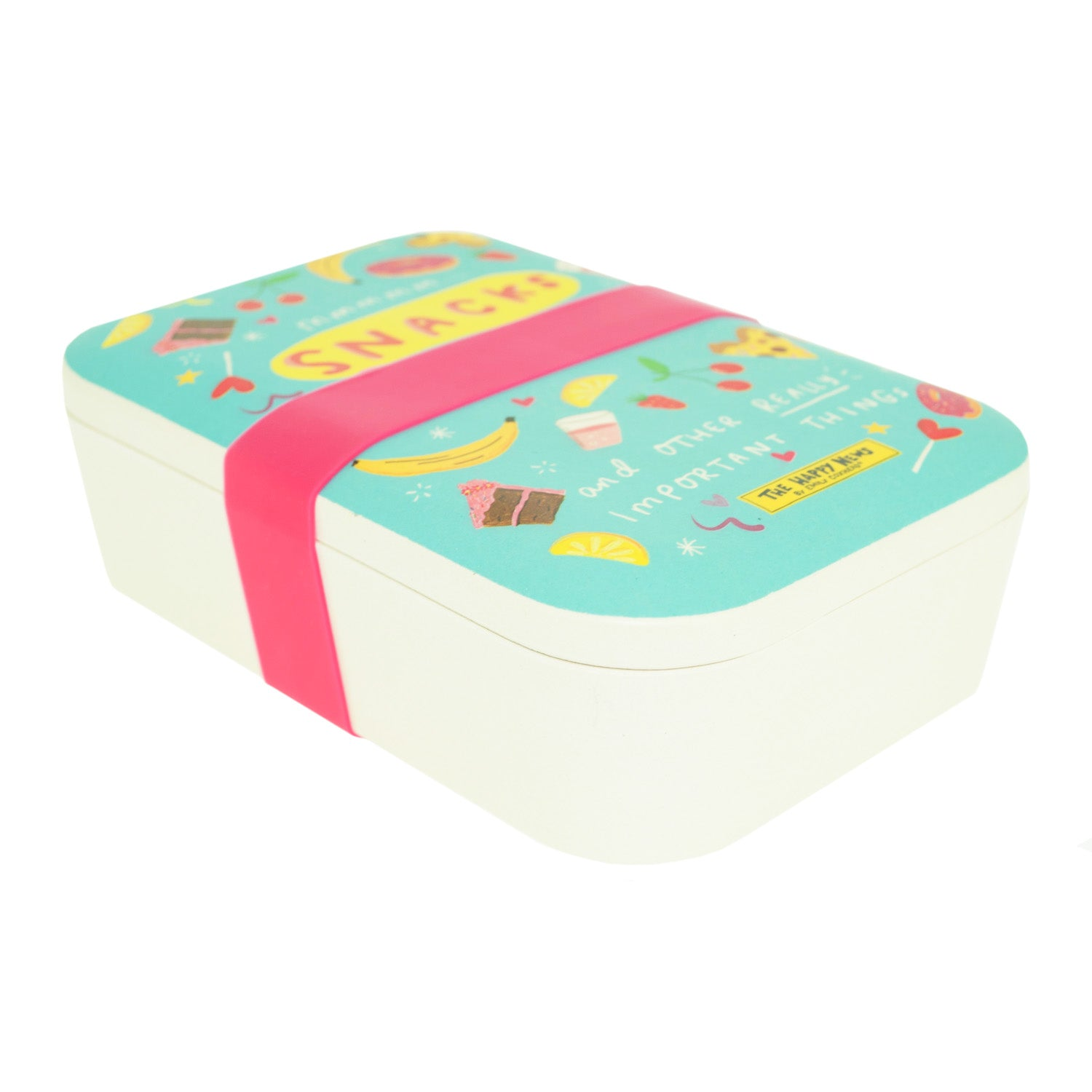 Happy News Bamboo Lunch Box - MissieMay