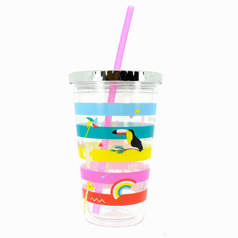 Happy Zoo Just Hanging Sippy Cup - MissieMay