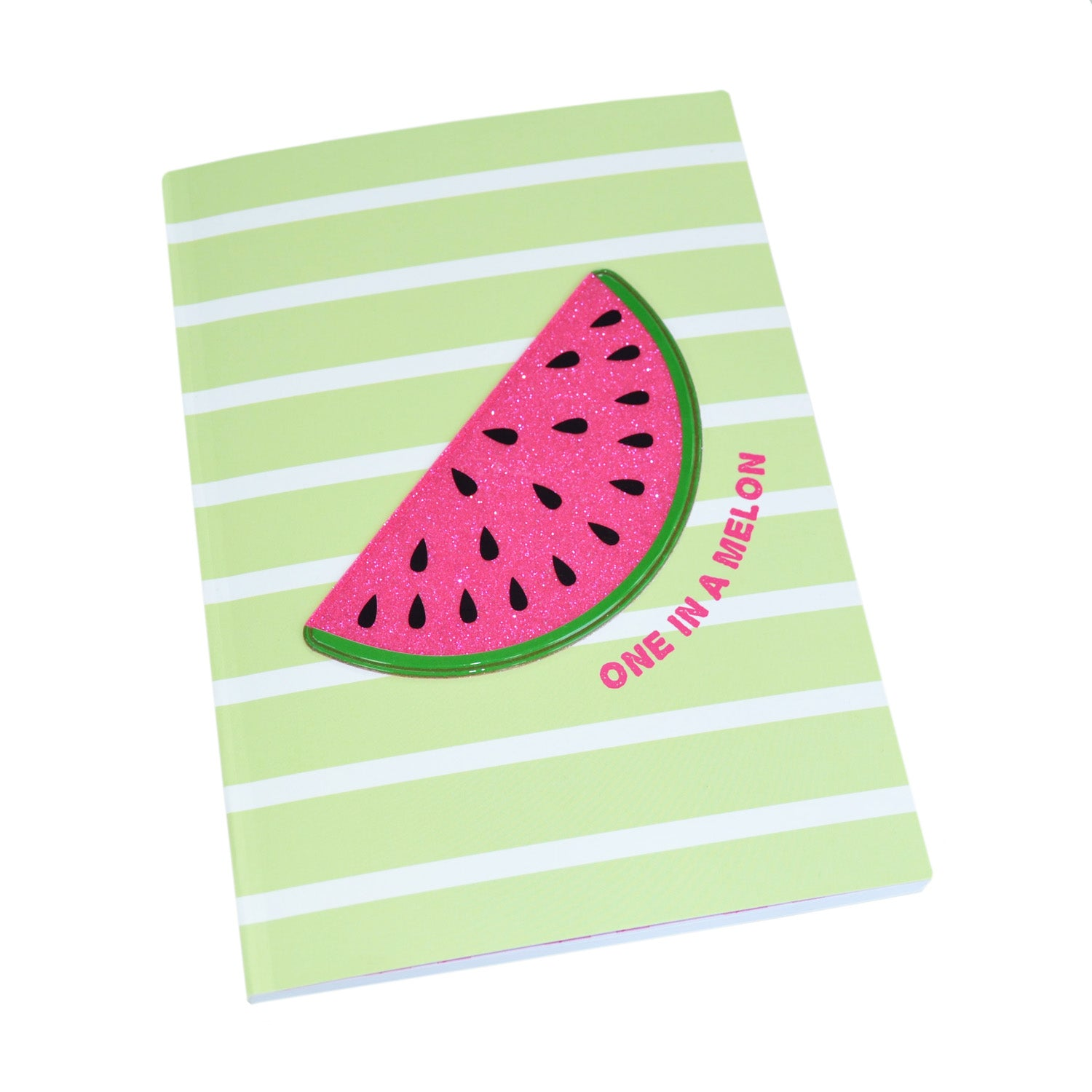 Happy Zoo Melon Novelty Notebook - MissieMay