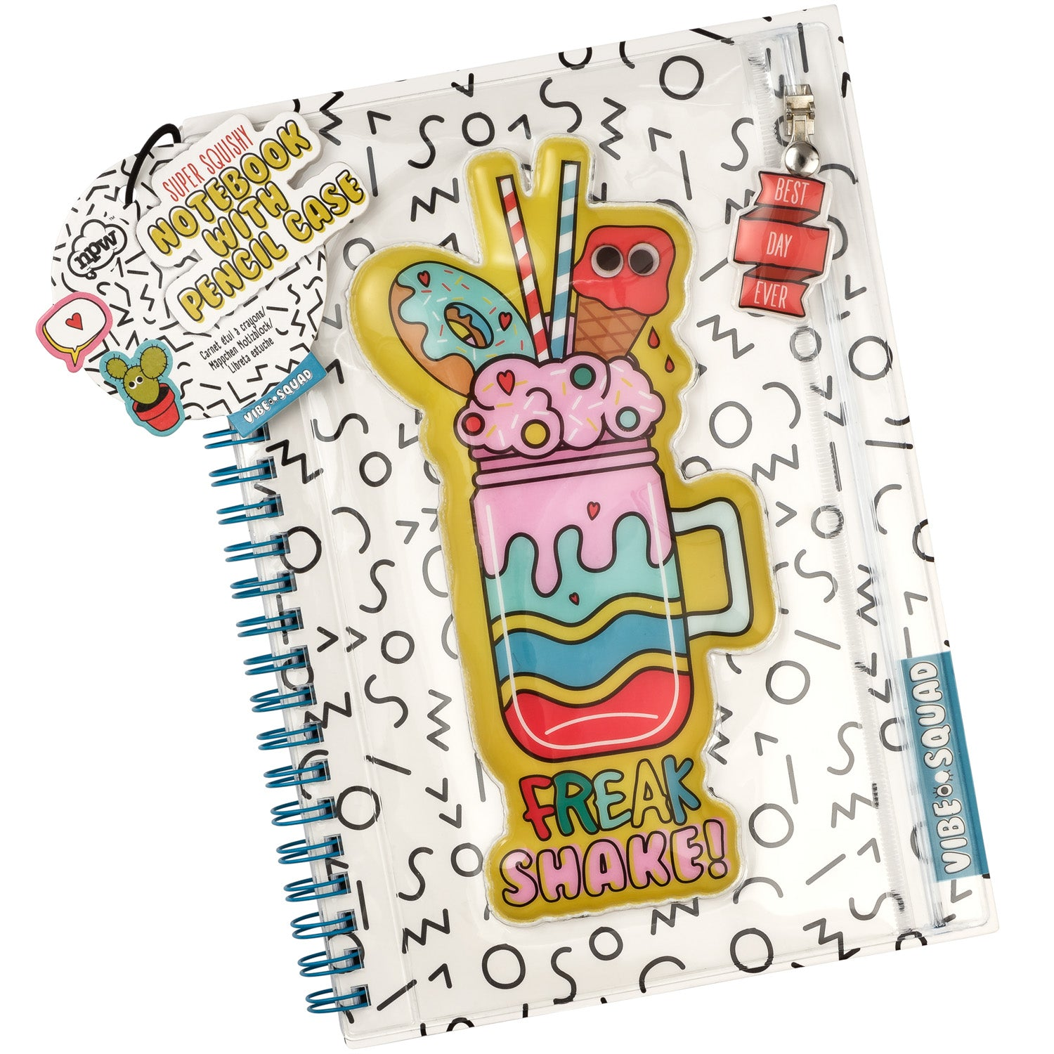 Vibe Squad Squishy Notebook with Pencil Case - MissieMay
