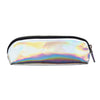 Slim Iridescent Silver Pencil Case - MissieMay