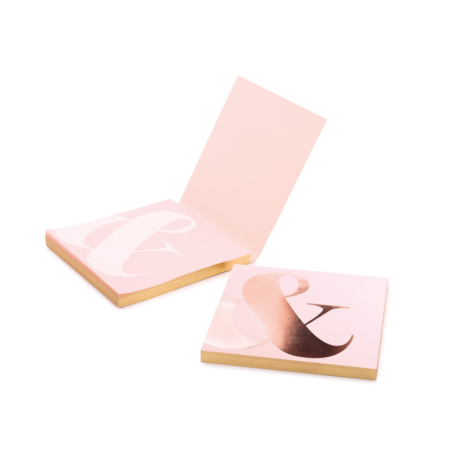 Shimmer Pink Champagne Sticky Notes - MissieMay