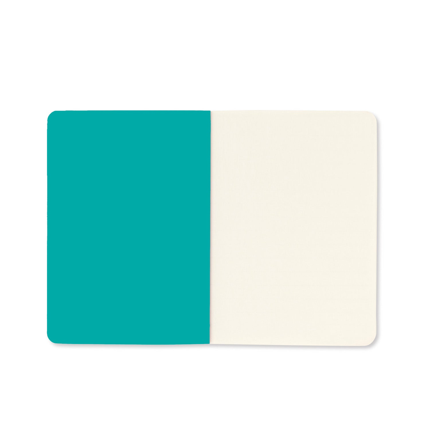 Shimmer Teal Set of Three A6 Notebooks - MissieMay
