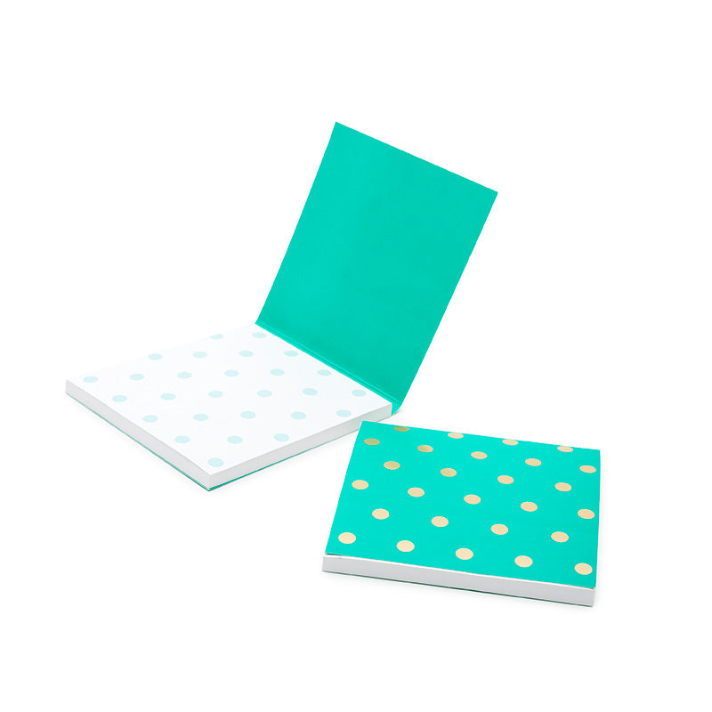 Shimmer Teal Sticky Notes - MissieMay