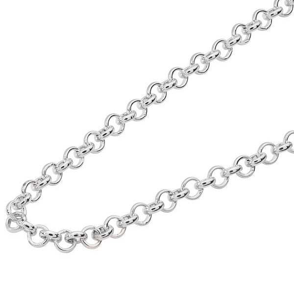 Belle & Beau Fancy Silver Coin Chain - MissieMay