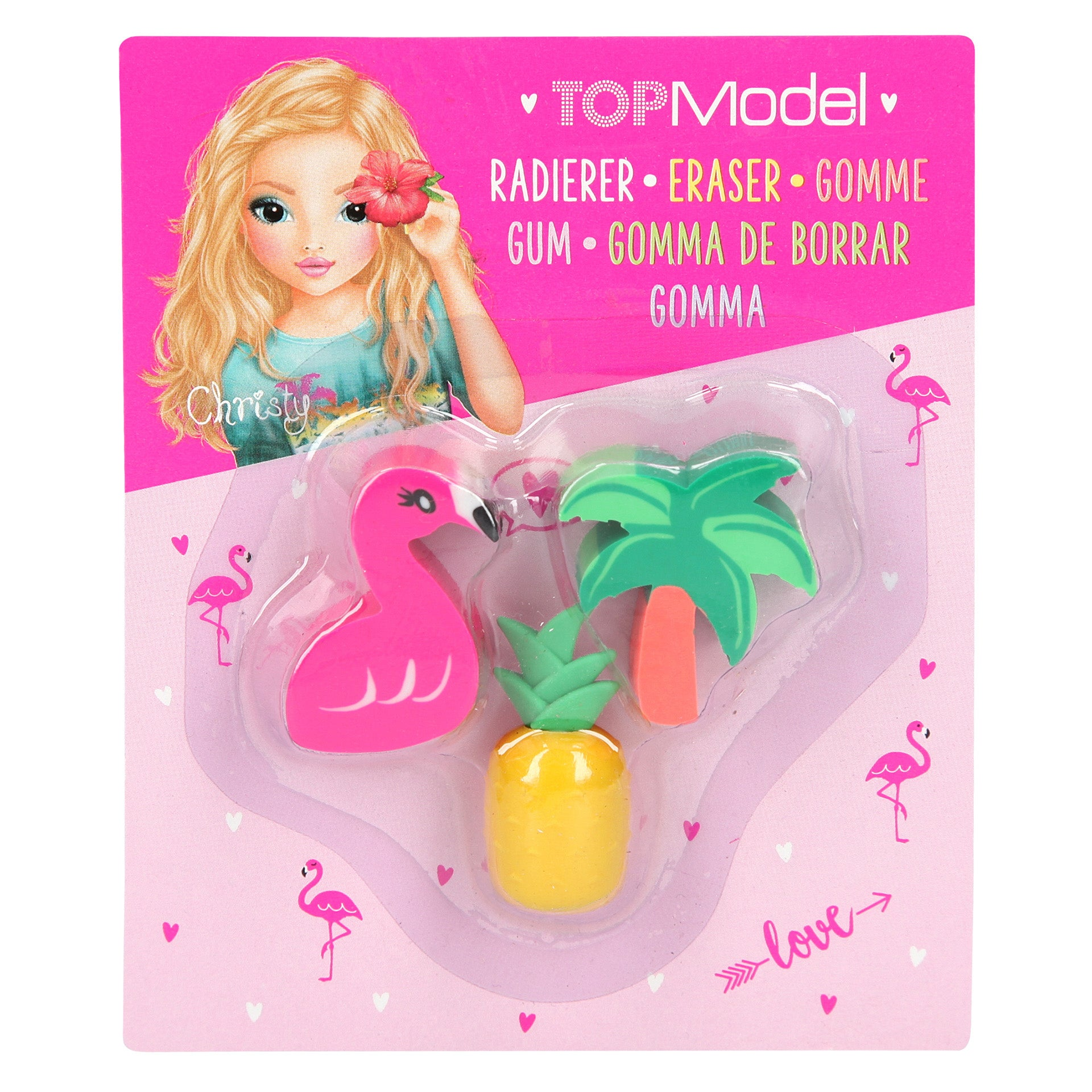 TopModel Tropical Eraser Set - MissieMay