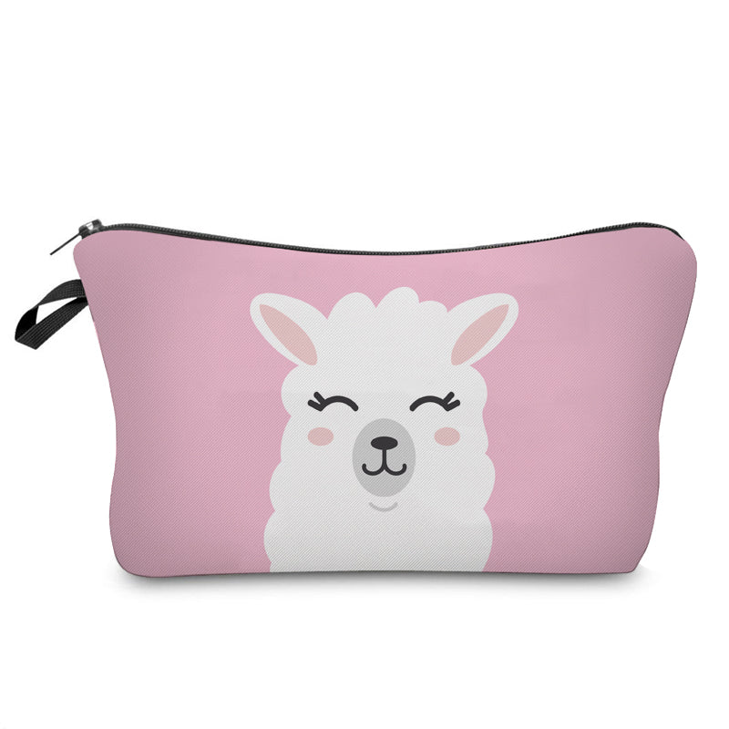 Cute Llama Cosmetic Bag - MissieMay