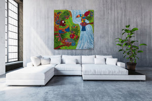 Costa Rica Jungle | Giclee Rolled Canvas - Teresa Andre Art