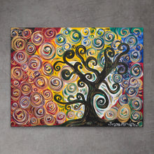 Load image into Gallery viewer, Colorful Tree | Original Painting - Teresa Andre Art