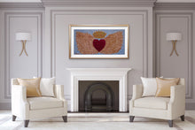 Load image into Gallery viewer, Heart With Wings | Paper Art Print - Teresa Andre Art
