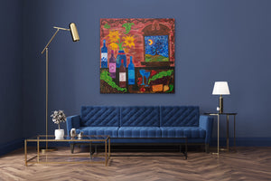 Starry Night | Giclee Rolled Canvas - Teresa Andre Art