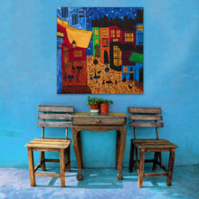 Load image into Gallery viewer, The Cafe Painting | Giclee Rolled Canvas - Teresa Andre Art