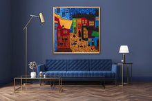 Load image into Gallery viewer, The Cafe Painting | Paper Art Print - Teresa Andre Art