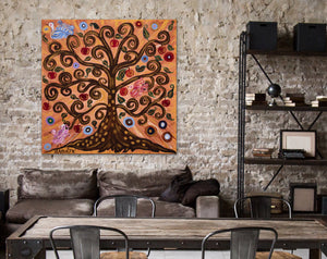 Tree Of Life | Giclee Rolled Canvas - Teresa Andre Art