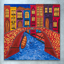 Load image into Gallery viewer, Venice Italy Bridge | Original Painting - Teresa Andre Art