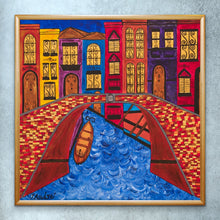 Load image into Gallery viewer, Venice Italy Bridge | Paper Art Print - Teresa Andre Art
