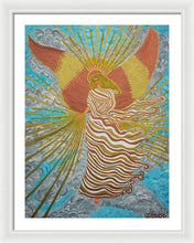 Load image into Gallery viewer, Angel Of Light - Framed Print - Teresa Andre Art