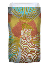 Load image into Gallery viewer, Angel Of Light - Duvet Cover - Teresa Andre Art