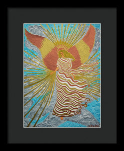 Angel Of Light - Framed Print - Teresa Andre Art