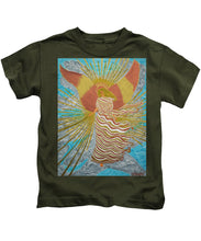 Load image into Gallery viewer, Angel Of Light - Kids T-Shirt - Teresa Andre Art