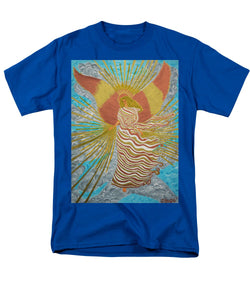 Angel Of Light - Men's T-Shirt  (Regular Fit) - Teresa Andre Art
