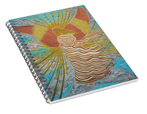 Angel Of Light - Spiral Notebook - Teresa Andre Art
