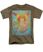 Load image into Gallery viewer, Angel Of Light - Men's T-Shirt  (Regular Fit) - Teresa Andre Art