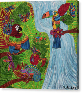 Costa Rica Jungle | Original Painting - Teresa Andre Art