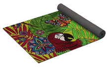 Load image into Gallery viewer, Costa Rica Jungle - Yoga Mat - Teresa Andre Art