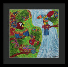 Load image into Gallery viewer, Costa Rica Jungle - Framed Print - Teresa Andre Art