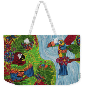 Costa Rica Jungle - Weekender Tote Bag - Teresa Andre Art