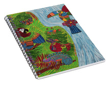 Load image into Gallery viewer, Costa Rica Jungle - Spiral Notebook - Teresa Andre Art