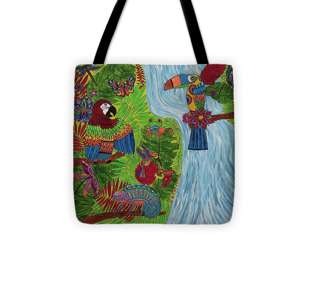 Costa Rica Jungle - Tote Bag - Teresa Andre Art