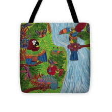 Load image into Gallery viewer, Costa Rica Jungle - Tote Bag - Teresa Andre Art