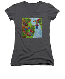 Costa Rica Jungle - Women's V-Neck - Teresa Andre Art