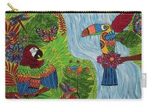 Load image into Gallery viewer, Costa Rica Jungle - Carry-All Pouch - Teresa Andre Art