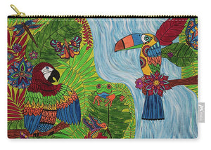 Costa Rica Jungle - Carry-All Pouch - Teresa Andre Art