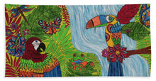Load image into Gallery viewer, Costa Rica Jungle - Bath Towel - Teresa Andre Art