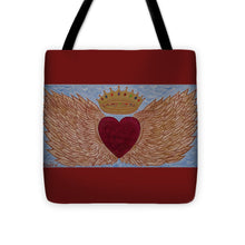 Load image into Gallery viewer, Heart With Wings - Tote Bag - Teresa Andre Art