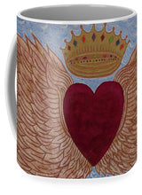 Load image into Gallery viewer, Heart With Wings - Mug - Teresa Andre Art