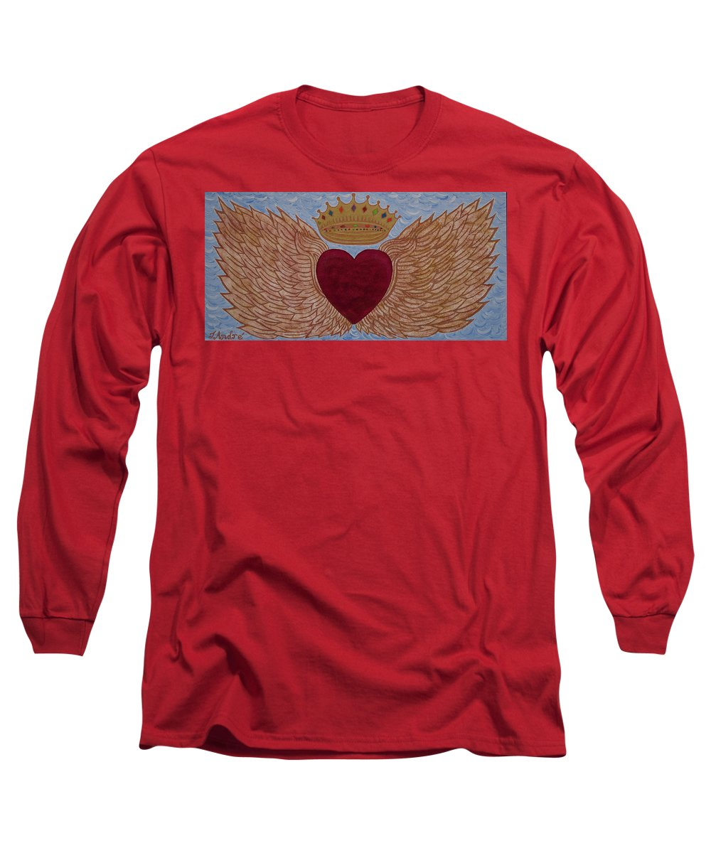 Heart With Wings - Long Sleeve T-Shirt - Teresa Andre Art