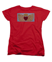 Load image into Gallery viewer, Heart With Wings - Women's T-Shirt (Standard Fit) - Teresa Andre Art