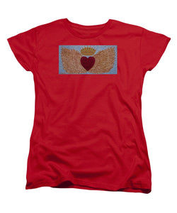 Heart With Wings - Women's T-Shirt (Standard Fit) - Teresa Andre Art