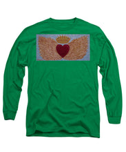 Load image into Gallery viewer, Heart With Wings - Long Sleeve T-Shirt - Teresa Andre Art